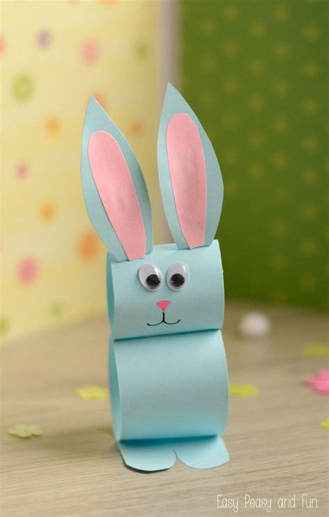 easter projects paper bunny craft easy easter craft for kids bunny