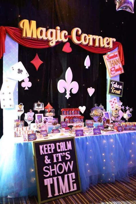 party themes magic magic birthday party ideas photo 7 of 8 catch my party