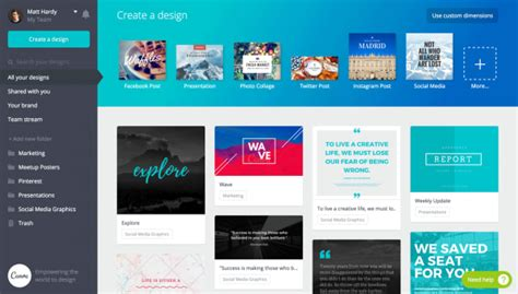 canva company profile canva for work innovation by design co design