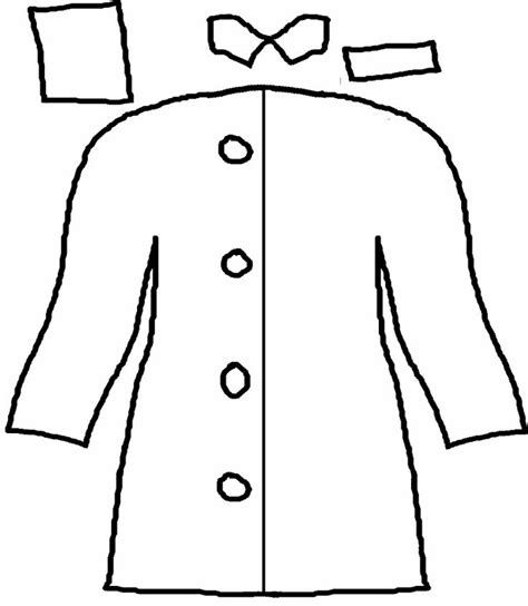 winter rain coat coloring pages sketch coloring page