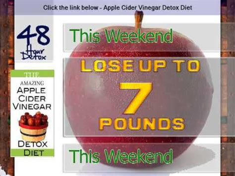 Apple Detox Weight Loss Results by Apple Cider Vinegar For Weight Loss Apple Cider Vinegar