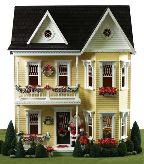 doll house christmas lights a splendidly pretty princess anne dollhouse decked out for