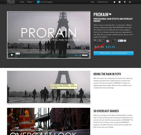 final cut pro gpu acceleration pixel film studio fcpx plugins