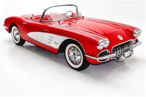 1959 chevrolet corvette fuelie frame off 1 of 745 manual convertible