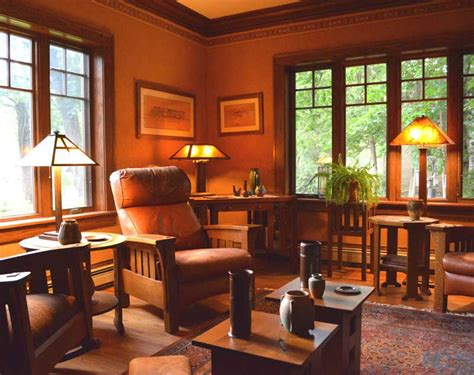 craftsman living room furniture arts and crafts living room living room