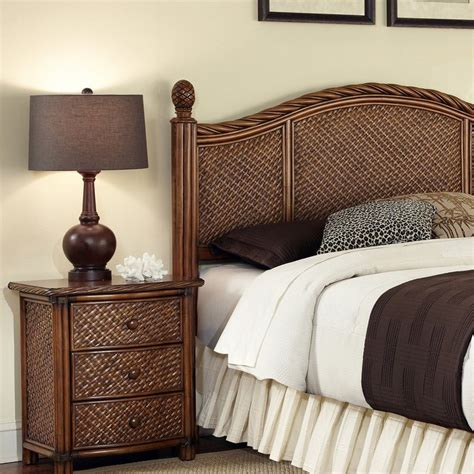 lowes bedroom furniture shop home styles marco island cinnamon king bedroom set at