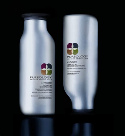 Loreal Buys Pureology by L Oreal Embraces Sensuously Curved Bottles For