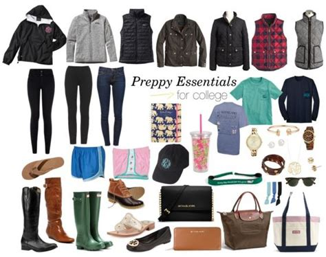 Wardrobe For College by Best 25 Preppy College Ideas On Preppy