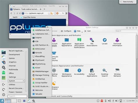 Kaos Arch Linux kaos uma distribui 231 227 o inspirada no arch linux pplware