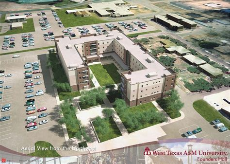 Large Open Floor Plans west texas a amp m university residential living founders hall