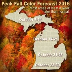 in color michigan when michigan fall colors will peak in 2016 mlive