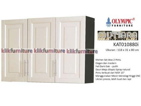 Sofa Minimalis Olympic 010880 kitchen set atas 3 pintu minimalis mutiara olympic
