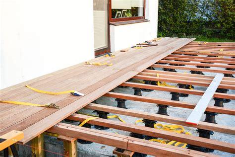 Terrassendielen Unterkonstruktion Balkon by Wpc Terrassendielen Verlegen