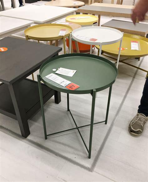 ikea gladom tray table stuff at ikea jones design company