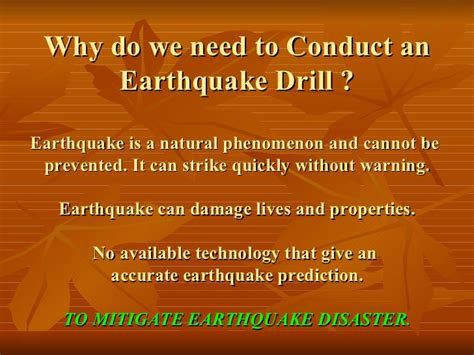 earthquake procedure new how to conduct eq drill in school