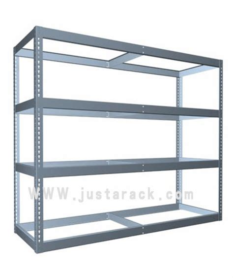heavy duty industrial shelving without particle board