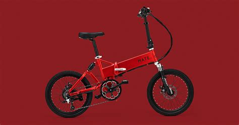designboom e bike folding electric mate ebike cruises at 35 km h