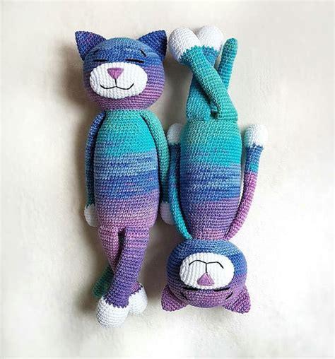 large ami cat crochet pattern amigurumi today