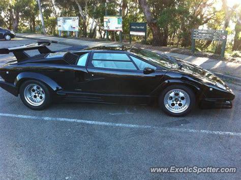 Lamborghini Countach Australia Lamborghini Countach Spotted In Melbourne Australia On 05