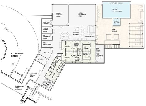 fitness center floor plan georgian bay club fitness centre