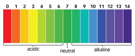 ph scale colors the importance of ph in a hydroponics system