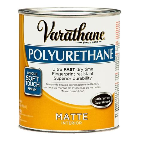 Home Depot Wood Doors Interior varathane 1 qt matte soft touch polyurethane 266233 the