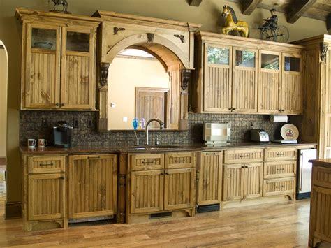 Rectangle soft brown unfinished pine kitchen cabinet rustic storages rustic backsplash gorgeous