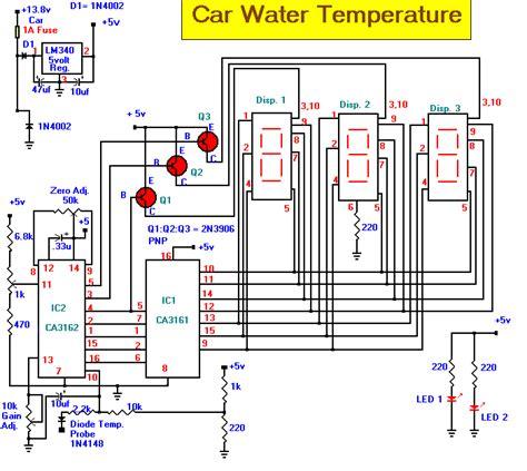 digital temperature sensor circuit diagram digital temperature sensor wiring diagram wiring diagram