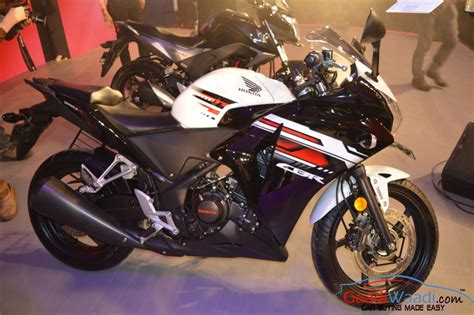 price of new honda cbr honda cbr150r and cbr250r refreshed variants prices announced