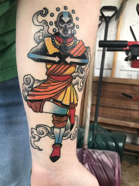 resurrected tattoo avatar the last airbender by rob fay at