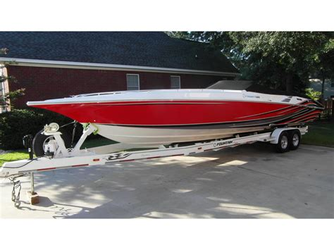 cigarette boat project for sale 2007 fountain 35 executioner powerboat for sale in south