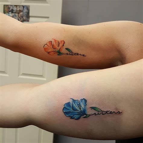 sister tattoos for 3 95 superb tattoos matching ideas colors symbols
