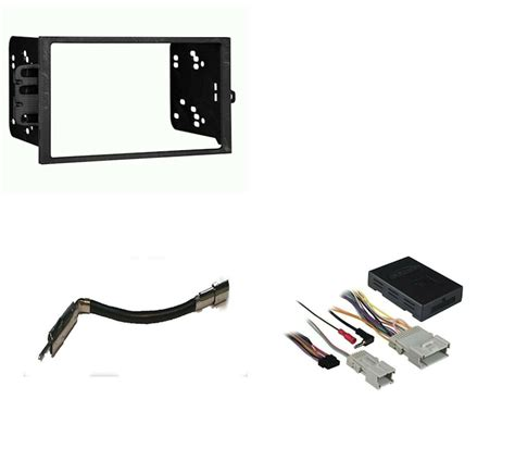 Stereo Radio Double Din Dash Kit With Bose Amp Onstar Wiring