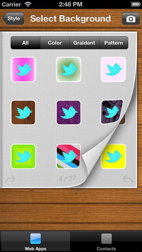 Iphone Home Screen Design App App Icons Customize Your Home Screen Icons Iphone Apps
