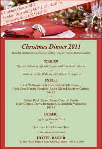 17 best images about christmas menus on pinterest