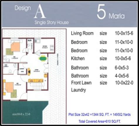 7 5 46 size houses map design 5 marla house plans civil engineers pk