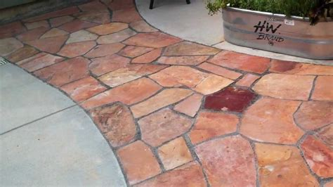 how to lay flagstone installing a flagstone patio