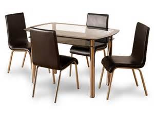 Cheap Dining Tables And Chairs Uk Buy Cheap Glass Dining Table 4 Compare Tables Prices For Best Uk Deals