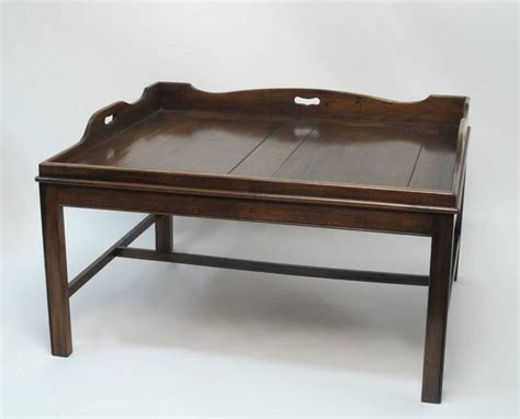 Butler Coffee Table Georgian Mahogany Butler S Tray Coffee Table At 1stdibs