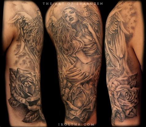 guardian tattoo full body guardian angel by sharuzen on deviantart gorgeous