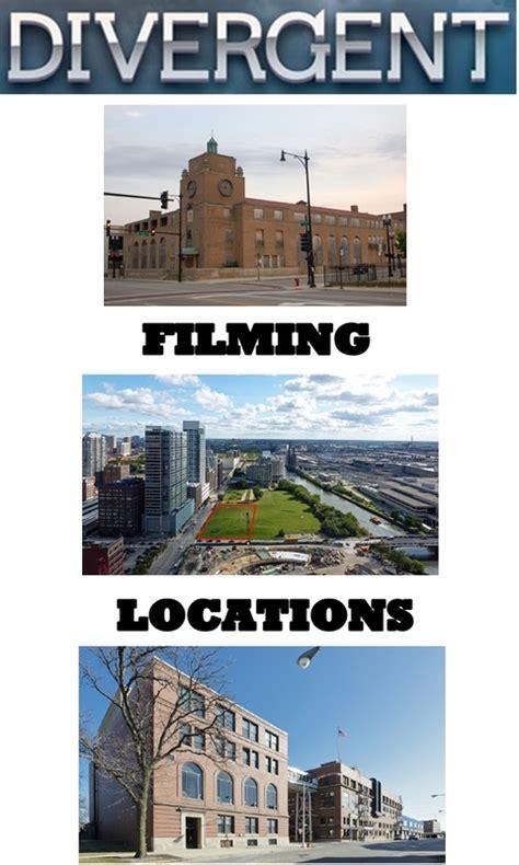 divergent chicago map divergent filming locations divergent factions book