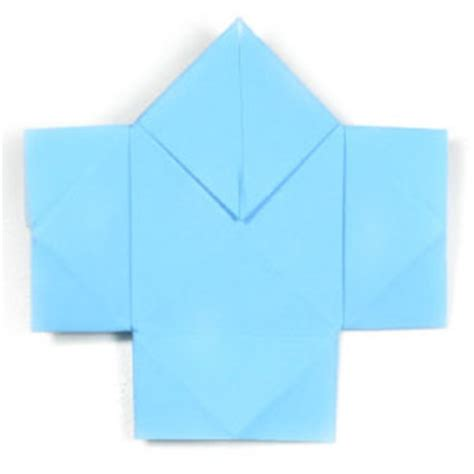 Easy Origami Shirt - how to make a traditional easy origami shirt page 1