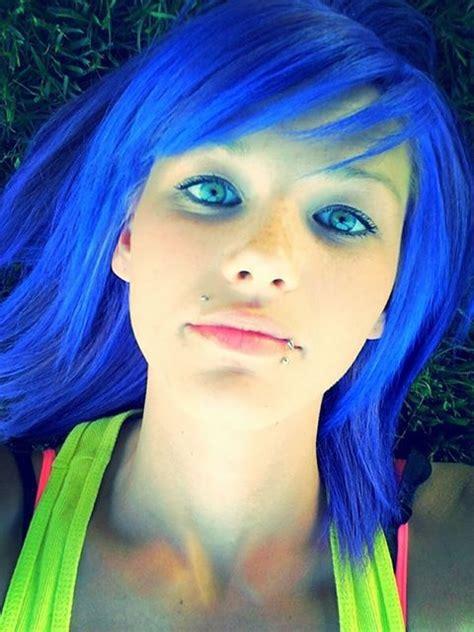 splat blue envy blue hair color pinterest blue