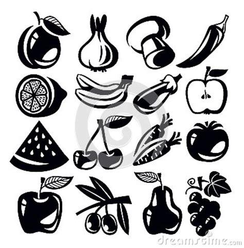 fruta blanco y negro fotos de archivo imagen 18950683 verduras y frutas imagen de archivo imagen 30220221