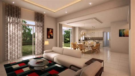interior design double storey terrace house