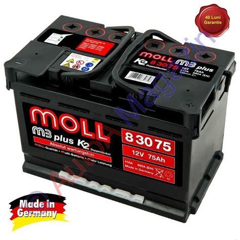 Auto Moll by Acumulator Auto Moll M3 Plus K2 75ah 680a Acumulatori