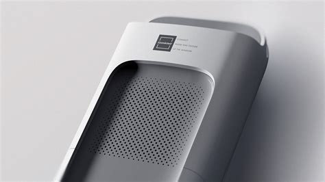 industrial design connected air purifier