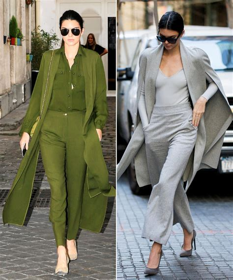 kendall jenner fashion kendall jenner has mastered how to master monochrome looks like kendall jenner