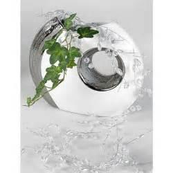 vase design blanc et argent 24 cm achat vente vase