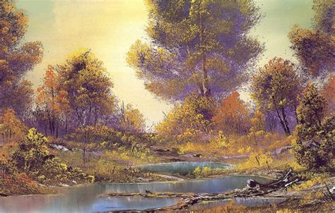 bob ross painting bushes wallpaper picture trees the bushes painting bob ross